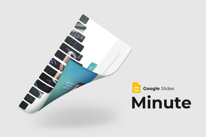 Minute - Google Slide Template
