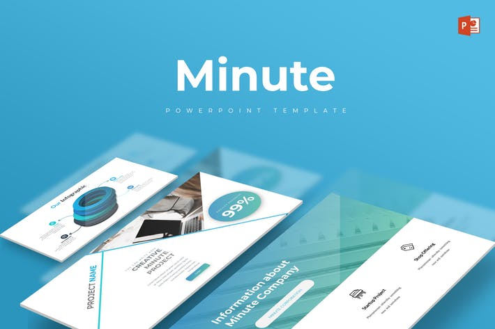 Minute - Powerpoint Template