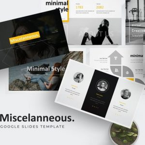 Misscelanneous - Google Slides Template