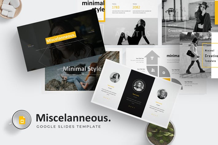 Misscelanneous - Google Slides Template
