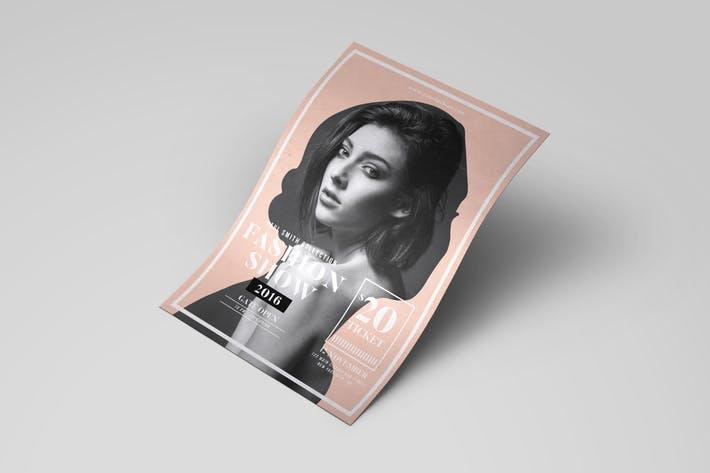 Modern Fashion Show Flyer