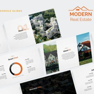 Modern Real Estate Google Slides Template