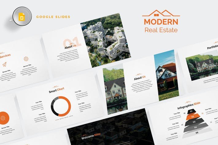 Modern Real Estate Google Slides Template