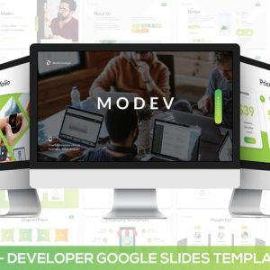 Modev Google Slides - Developer Presentation