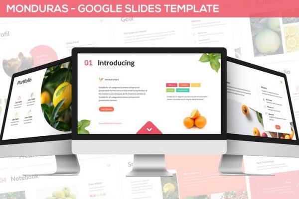 Monduras - Nature Google Slides Template