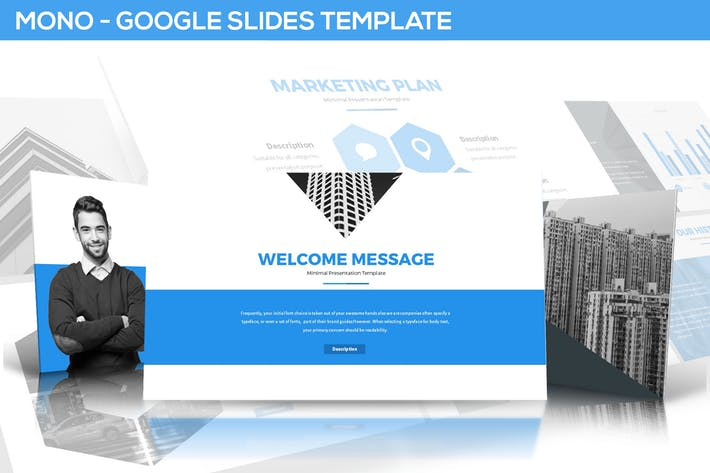 Mono Google Slides Template