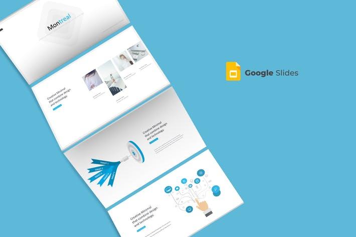 Montreal - Google Slides Template