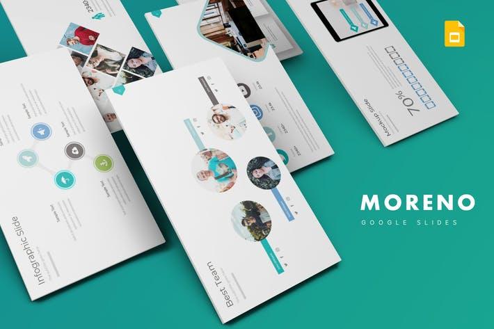 Moreno - Google Slide Template