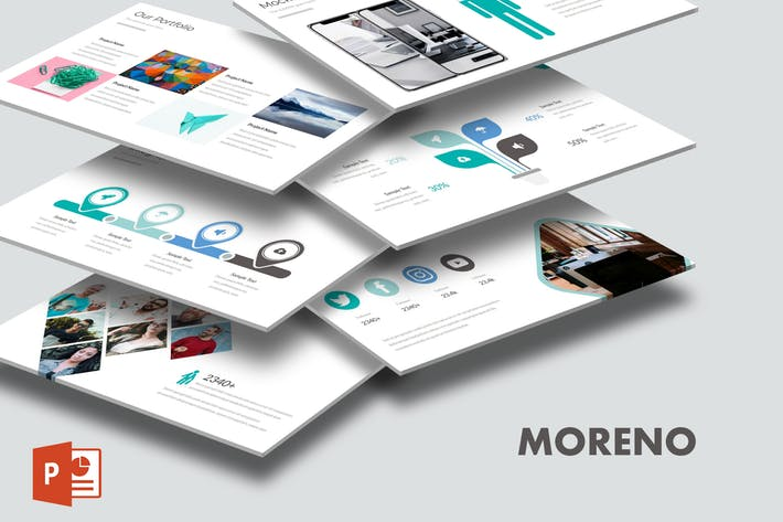 Moreno - Powerpoint Template