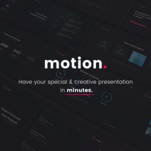 MOTION - Creative Google Slide Template
