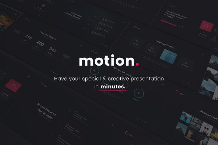 MOTION - Creative Google Slide Template
