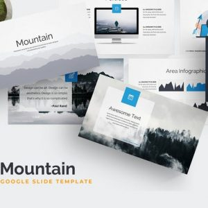 Mountain Google Slides Template