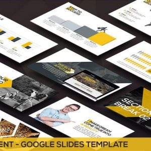 Movement - Swiss Google Slides Template