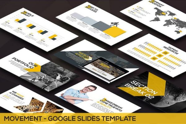 Movement - Swiss Google Slides Template