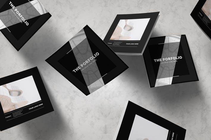 Multipurpose Square Brochure Porfolio