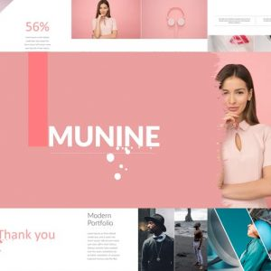MUNINE Powerpoint Template