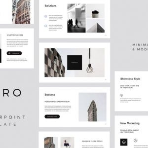 MURO - Powerpoint Minimal Template
