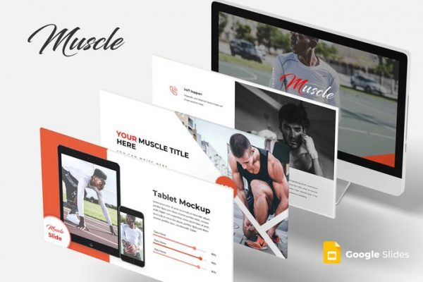 Muscle - Google Slides Template