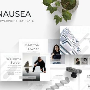 Nausea - Powerpoint Template
