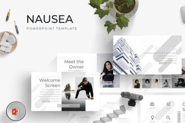 Nausea - Powerpoint Template