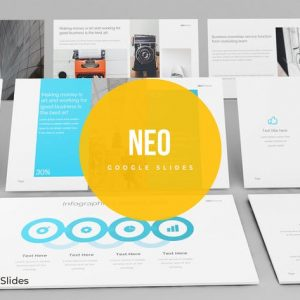 Neo - Google Slides template