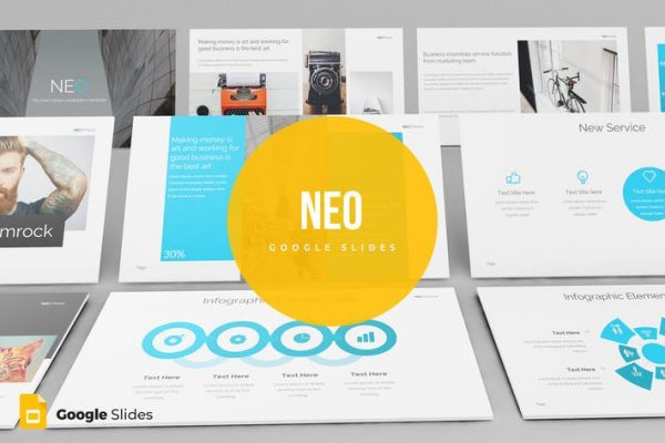 Neo - Google Slides template