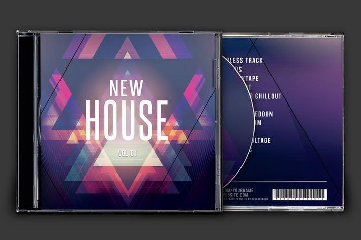 New House CD Cover Artwork