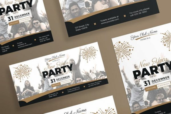 NewYear Party Flyer and Poster Template