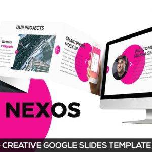 Nexos - Creative Google Slides Template