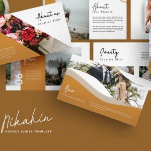 Nikahin - Google Slides Template