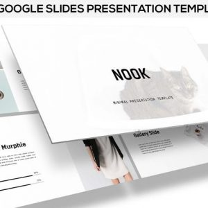 Nook - Minimal Google Slides Template