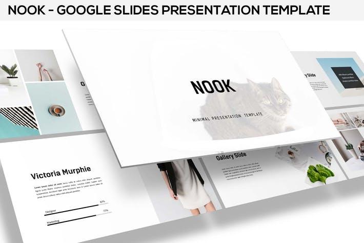 Nook - Minimal Google Slides Template