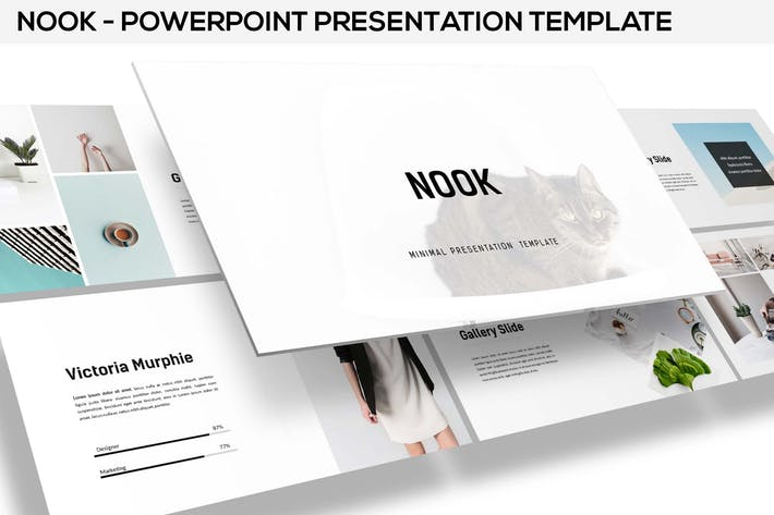 Nook - Minimal Powerpoint Template