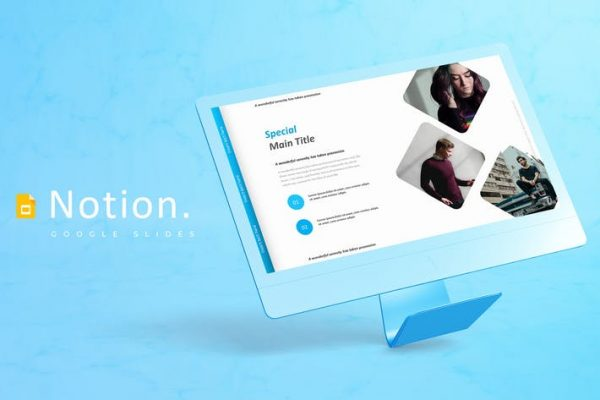 Notion - Google Slides Template