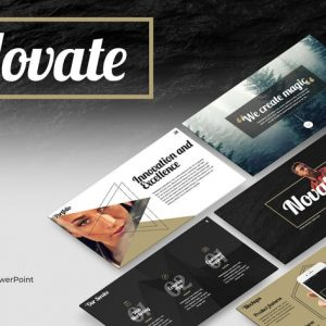 Novate PowerPoint Presentation Template