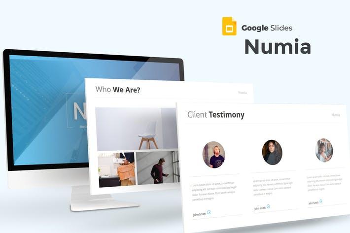 Numia - Google Slides Template