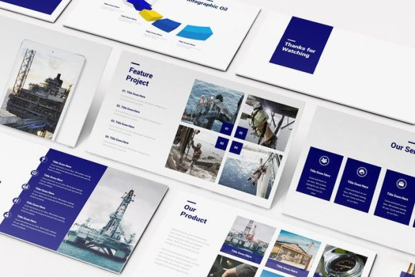 Oil and Gas Google Slides Template