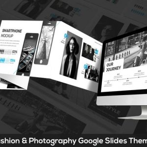 ONE - Fashion & Photography Google Slides Theme