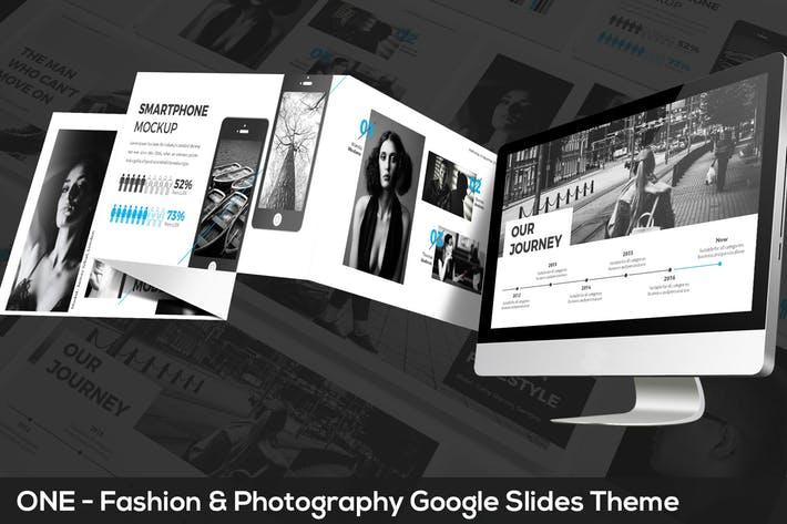ONE - Fashion & Photography Google Slides Theme