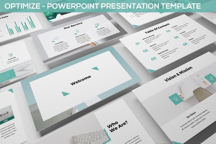 Optimize - Multipurpose Powerpoint Template