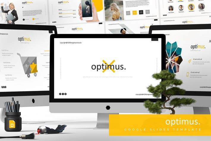 Optimus - Google Slides Template