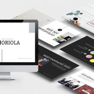Oriola : Business Powerpoint Template