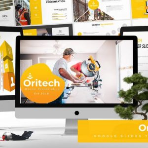 Oritech - Google Slides Template