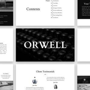 Orwell Presentation Template