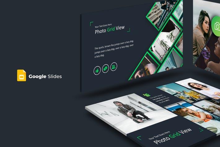 Photo Grid - Google Slides Template