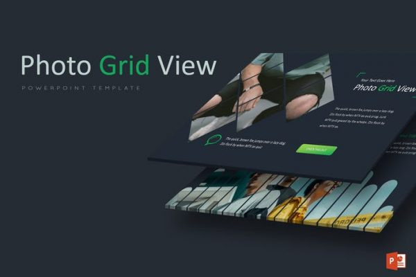 Photo Grid - Powerpoint Template