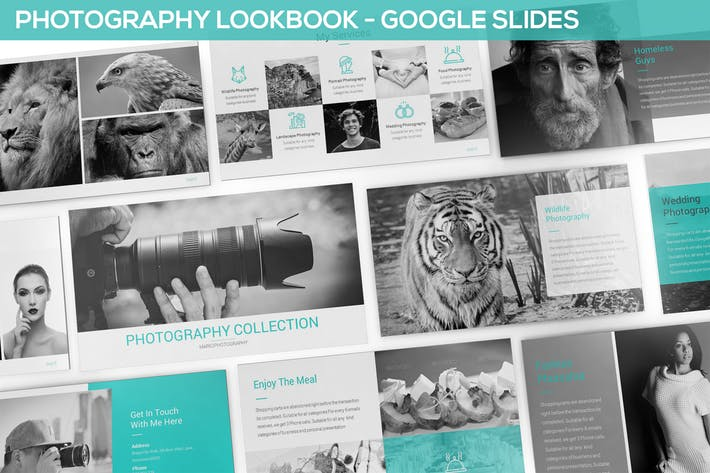 Photography Lookbook Google Slides Template