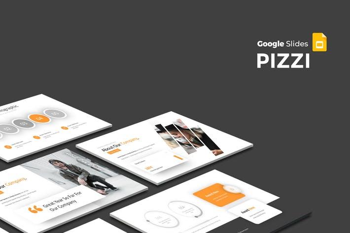 Pizzi - Google Slides Template