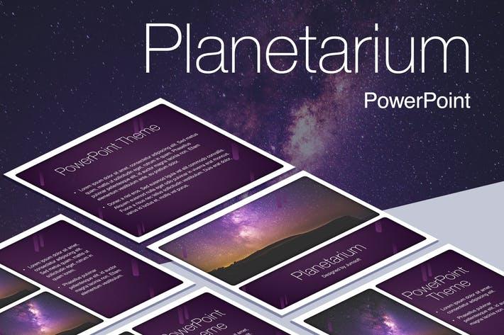Planetarium PowerPoint Template