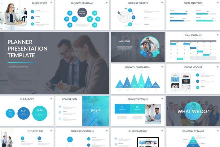 Planner Presentation Google Slides Template